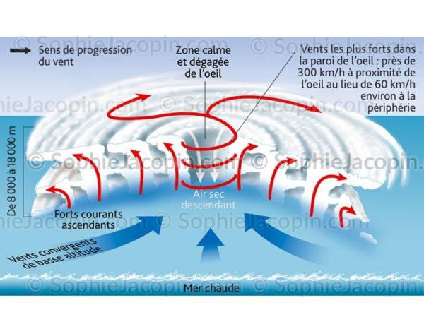 Formation de cyclones - phénomène météorologique - © Sophie Jacopn